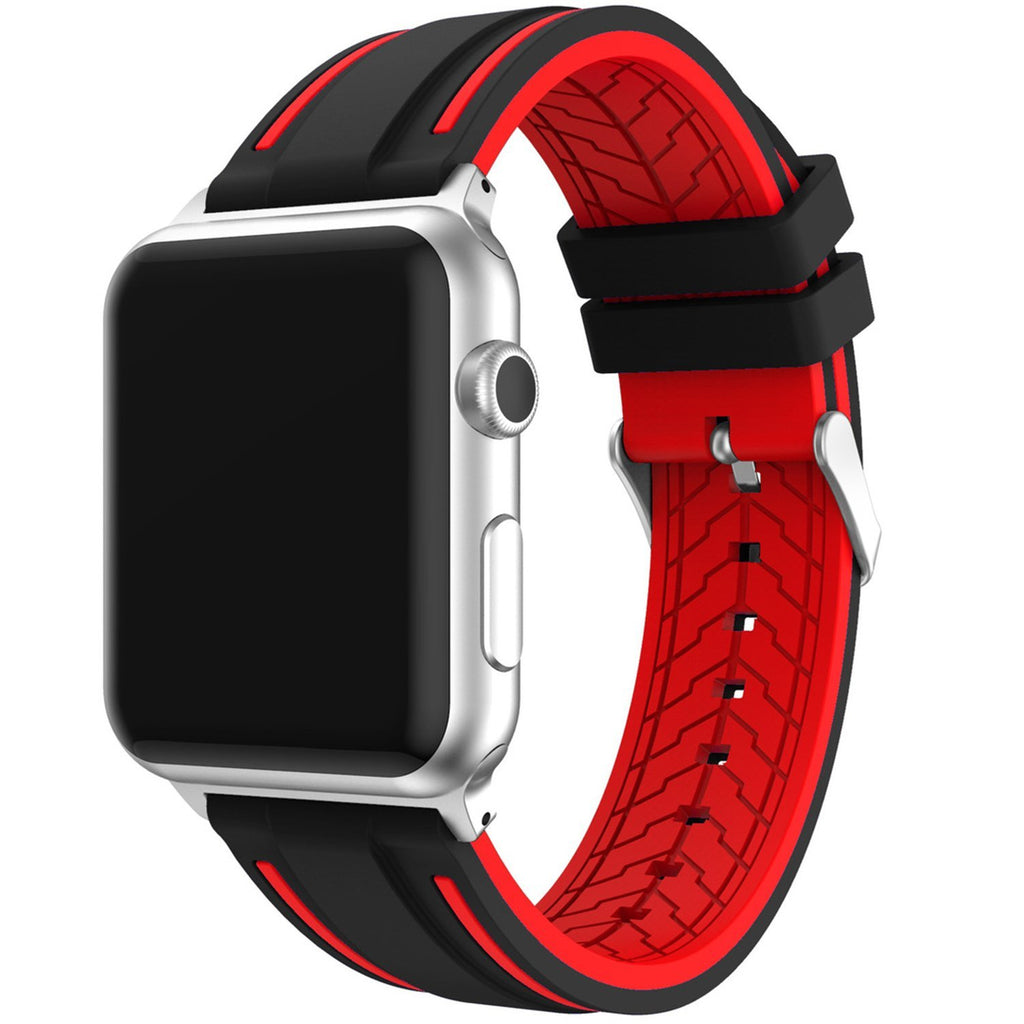 Replacement  Sport Soft Silicone Band Strap for Apple Watch Series 1,2 (42mm)