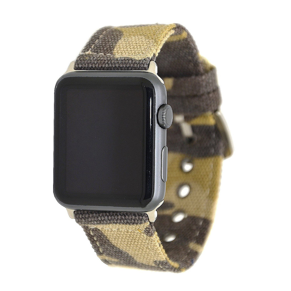 Military Replacement Strap Band With Metal Clasp for Apple Watch Series 1,2 (42mm)