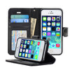 iPhone 5/5S Protective Flip Wallet Case