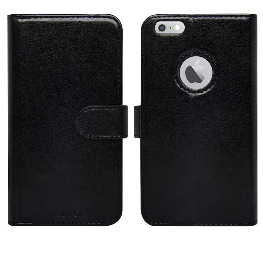 5.5-inch iPhone 6/6S Plus Three Layers Wallet Case