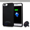 RFID Wallet Magnetic Battery Case 4200mAh And Car Mount for iPhone 7 Plus / 6 Plus / 8 Plus [5.5 Inch]