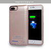 RFID Wallet Magnetic Detachable Battery Case 4200mAh for iPhone 7 Plus / 6 Plus / 8 Plus [5.5 Inch]