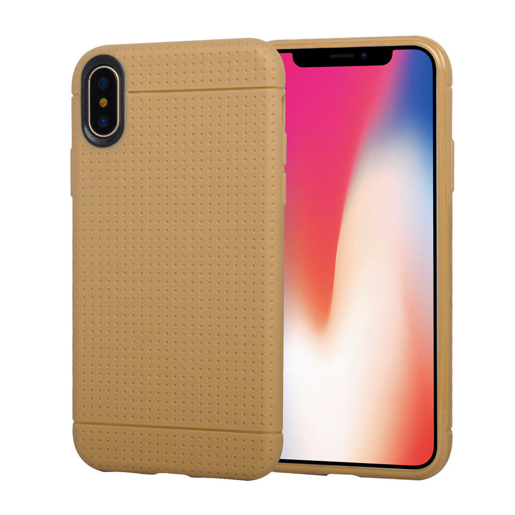 Slim Fit Protective Soft and Lightweight Bumper Shockproof Case for iPhone X [TPU-02]