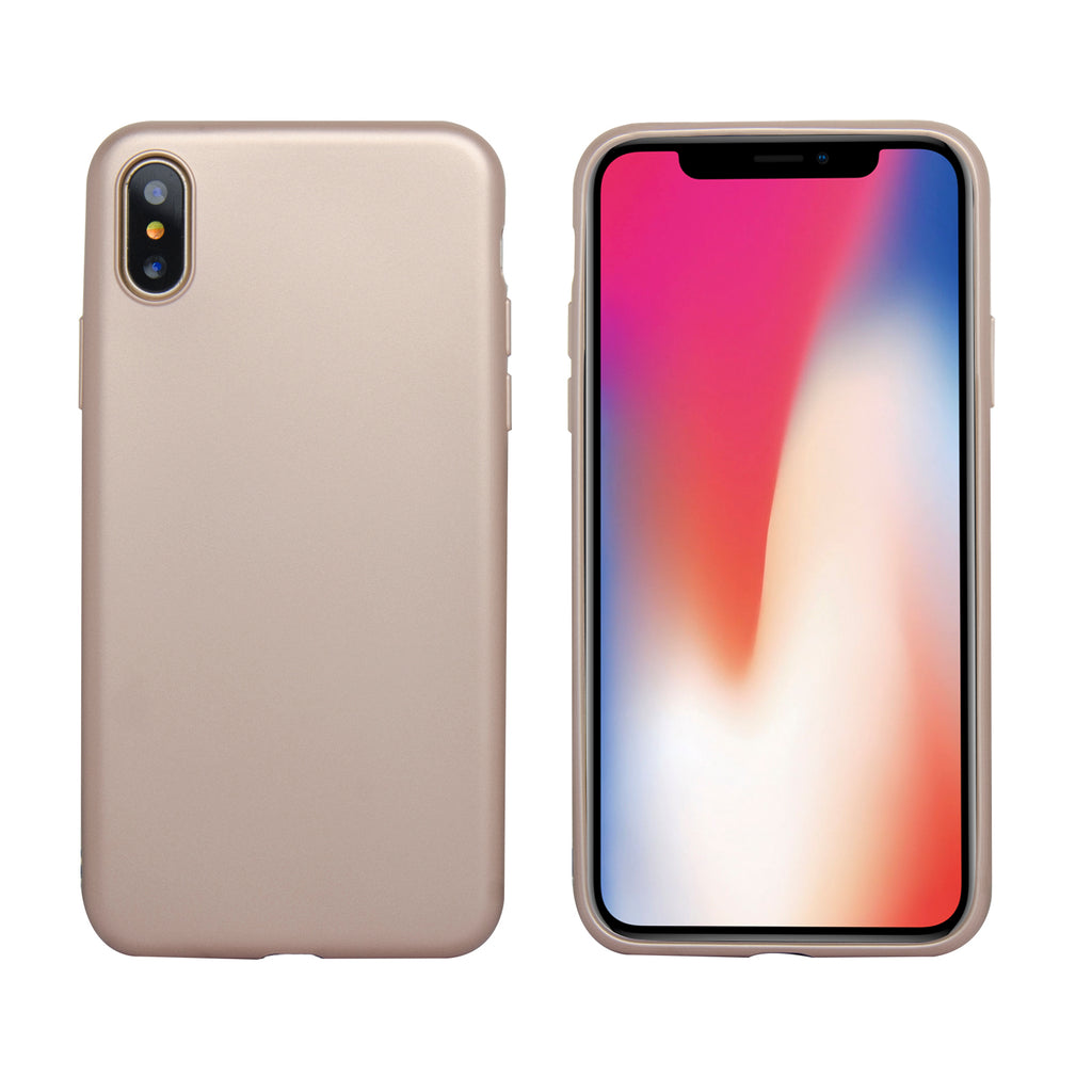 Slim Fit Protective Soft and Lightweight Bumper Shockproof Case for iPhone X [TPU-06]