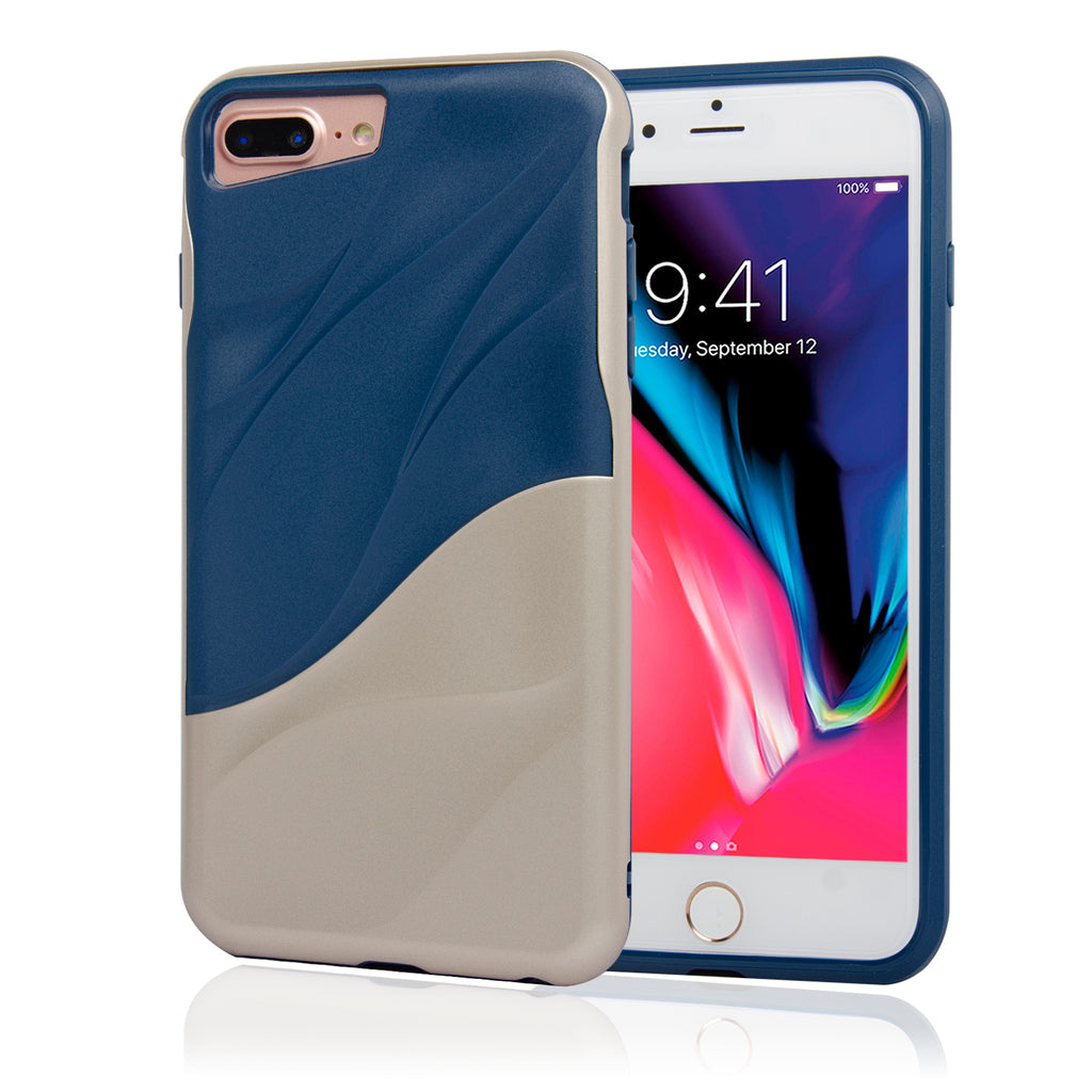 Slim Fit Protective Soft and Lightweight Bumper Case for iPhone 7 Plus And 8 Plus