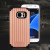 Kario Groove Dual Layer Hybrid Protective Case for Samsung Galaxy S7