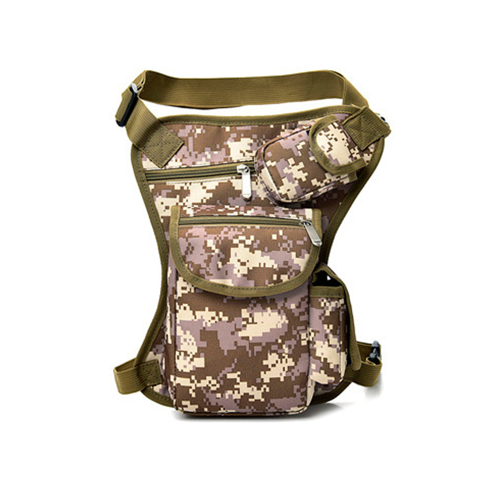 Lightweight Travel Casual Backpack Cross Body Bags (Army)