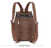 Convertible Business Travel/School Canvas Backpack/Handbag