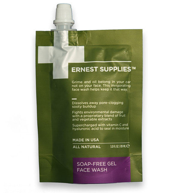 Ernest Supplies Soap-Free Gel Face Wash, 3 fl oz