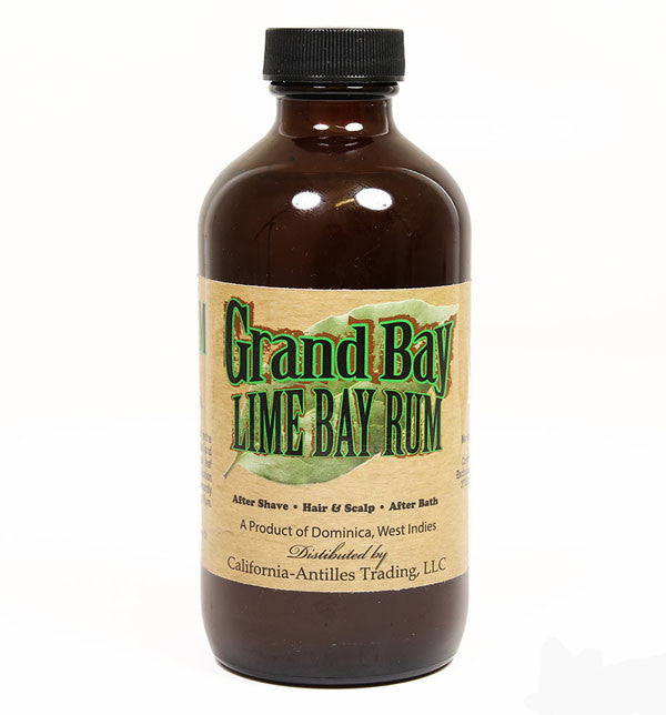 Grand Bay, Lime Bay Rum Aftershave from Dominica, West Indies, 8 ounces