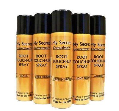 My Secret Correctives Root Touch-Up Spray 2oz -  Black