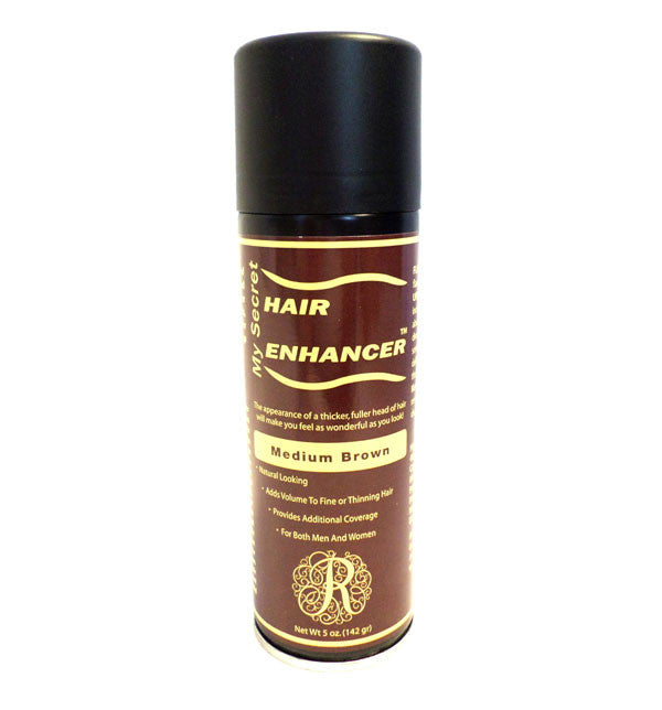 My Secret Hair Enhancer Spray 5 oz - Medium Brown