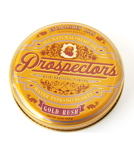 Prospectors Gold Rush Hair Pomade, 4.5oz