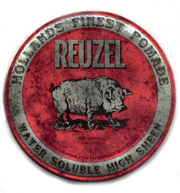 Reuzel Red High Sheen Water Based Pomade 4oz /113g