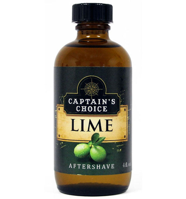 Captain's Choice Lime Aftershave Splash Cologne, 4oz