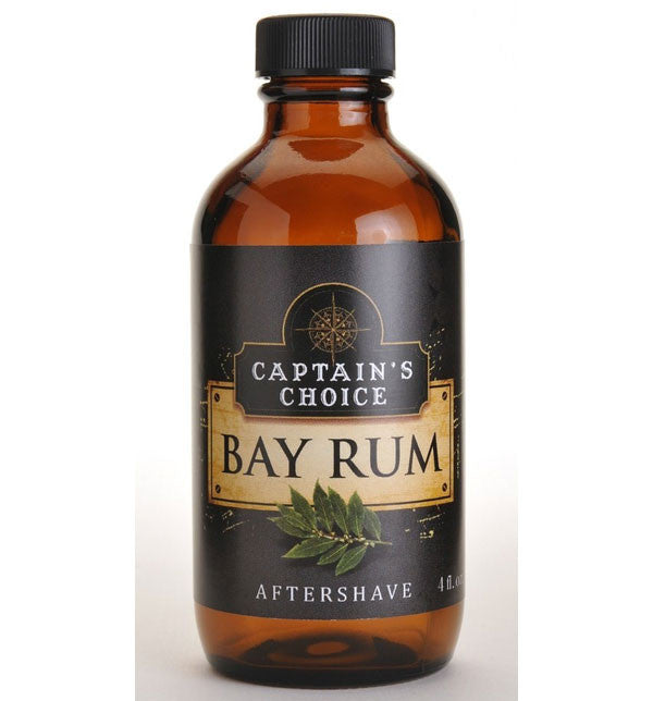 Captain's Choice Original Bay Rum Aftershave Splash Colonge, 4 oz.