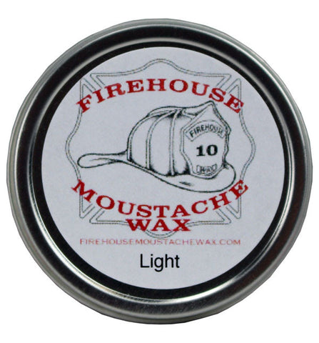 Firehouse Moustache Wax - Light, 1oz