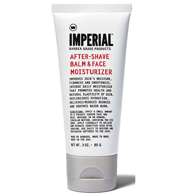 Imperial Barber After Shave Balm & Facial Moisturizer,  3 oz