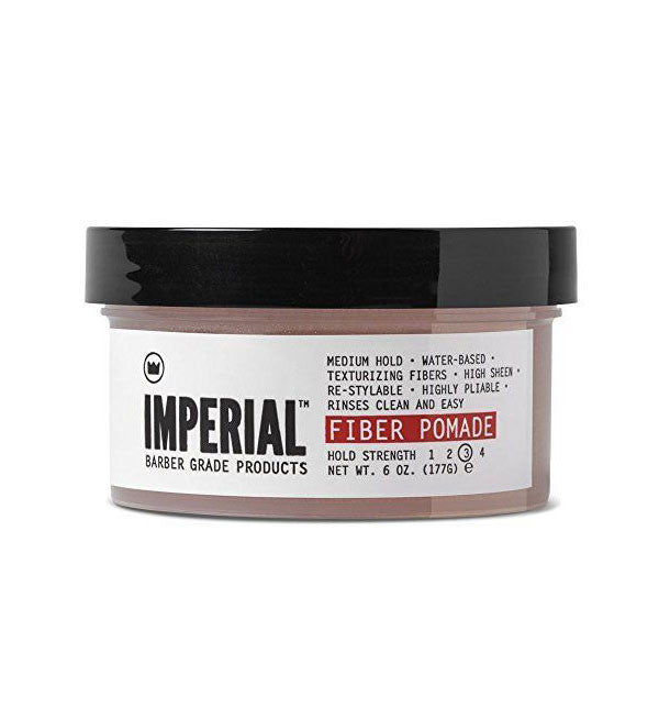 Imperial Barber Products Fiber Pomade, 6oz