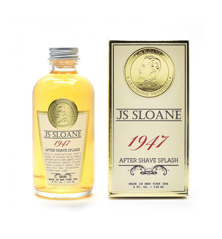 "JS Sloane ""1947"" After Shave Splash, 4 fl oz"