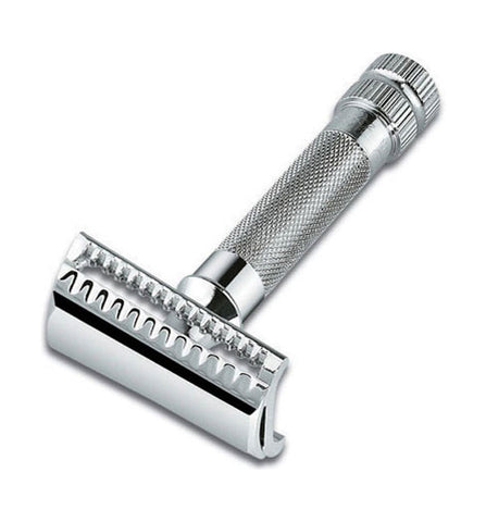 Merkur Slant Chrome Double Edge Safety Razor #37C