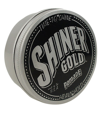 Shiner Gold Heavy Hold Pomade, 4 Oz
