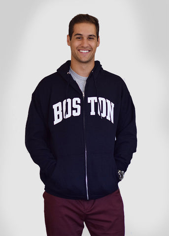 Boston Full-Zip Sweatshirt