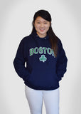 Boston Apparel Company, Boston Shamrock Sweatshirt, Navy