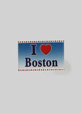 Boston Apparel Company, I Love Boston Magnet