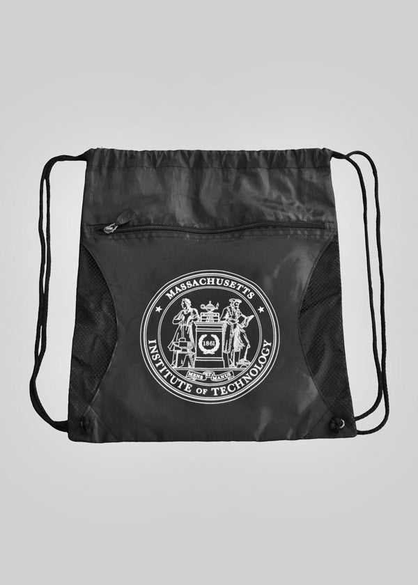 MIT Crest Cinch Bag