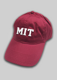 MIT Red Baseball Cap
