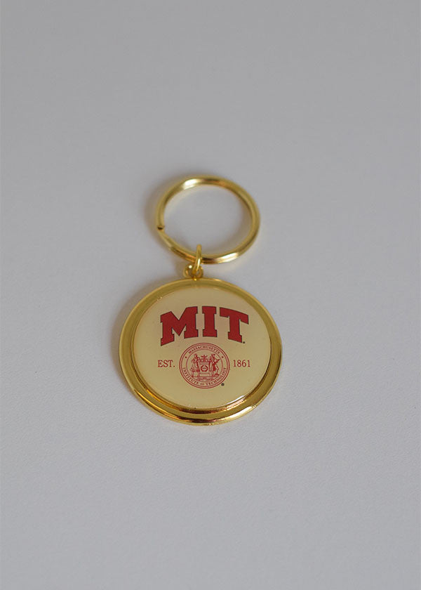 This classy keychain is a perfect accessory to show your MIT pride!