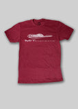 MIT Red Distressed Athletics T-Shirt