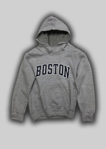 Youth Boston Arc Hooded Sweatshirt