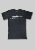 MIT Dark Grey Distressed Athletics T-Shirt