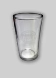 MIT crest pint glass cup