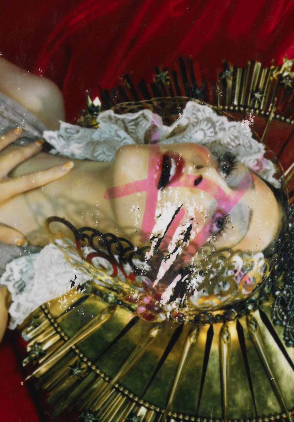 Miles Aldridge Please return Polaroid