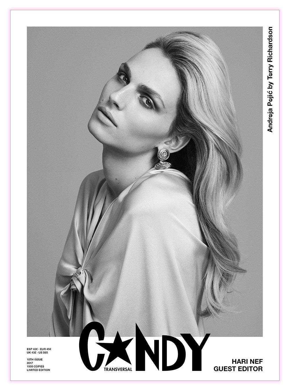 Candy 10 Guest Edited by Hari Nef - Claire de Rouen Books