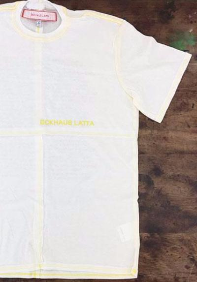A Magazine Curated By Eckhaus Latta T-Shirt - Claire de Rouen Books