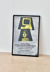 Stephen Willats, Between Objects and People Poster