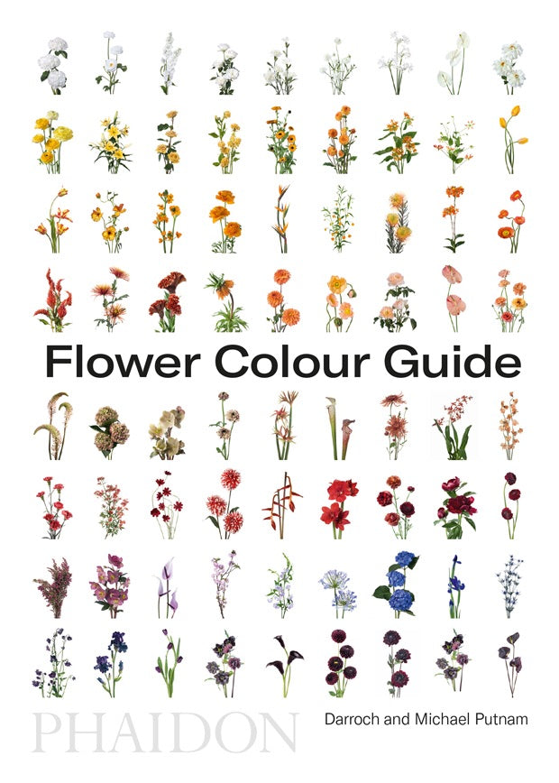 Flower Colour Guide - Claire de Rouen Books