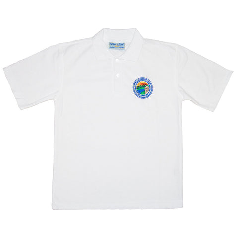 Primary School Polo Shirt with Name