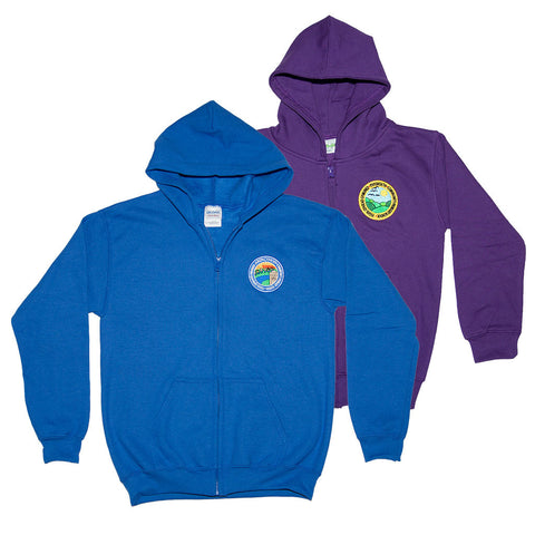 Primary School Zipped Hoody