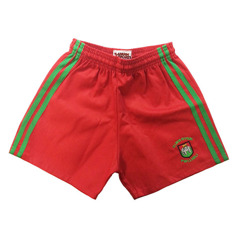 Pwllheli RFC playing shorts