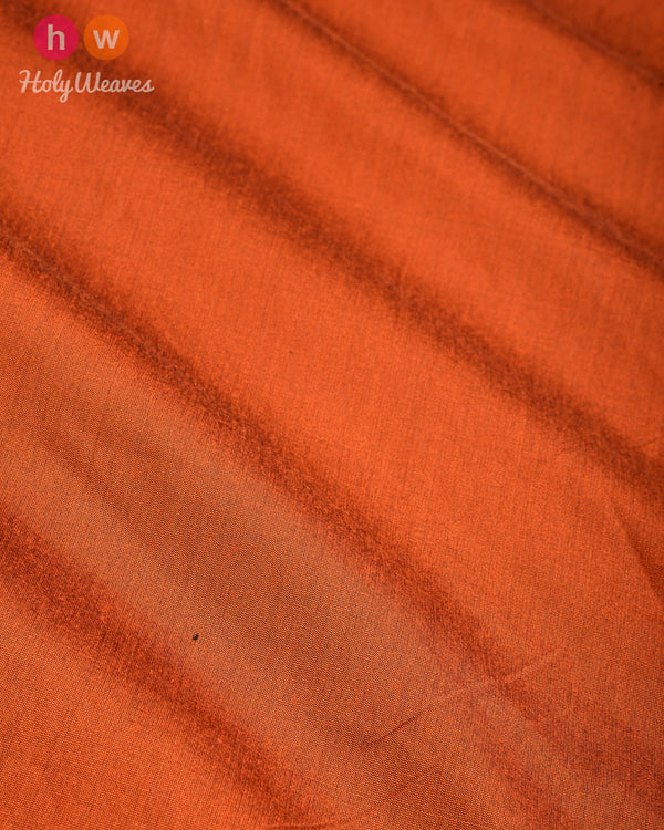 Sienna Brown Plain Art Cotton Silk Fabric for Pyjama, Chudidar, Furnishings etc- HolyWeaves