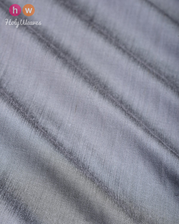 Gray Plain Art Cotton Silk Fabric for Pyjama, Chudidar, Furnishings etc- HolyWeaves
