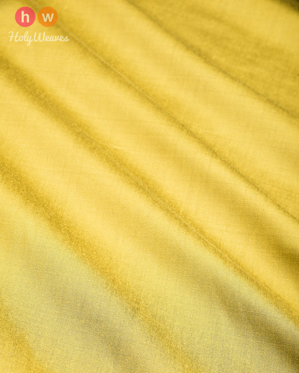 Olive Green Plain Art Cotton Silk Fabric for Pyjama, Chudidar, Furnishings etc - HolyWeaves