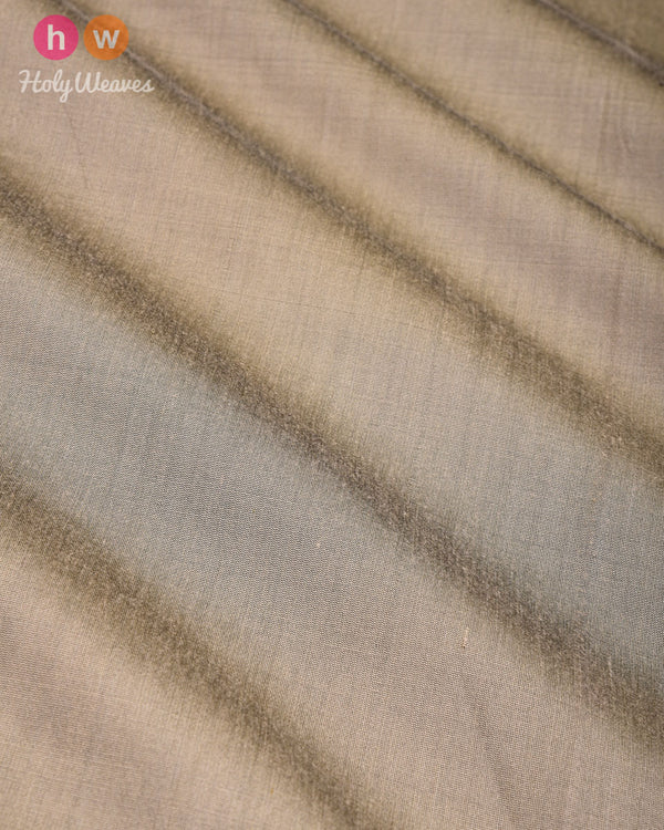 Gray Green Plain Art Cotton Silk Fabric for Pyjama, Chudidar, Furnishings etc- HolyWeaves