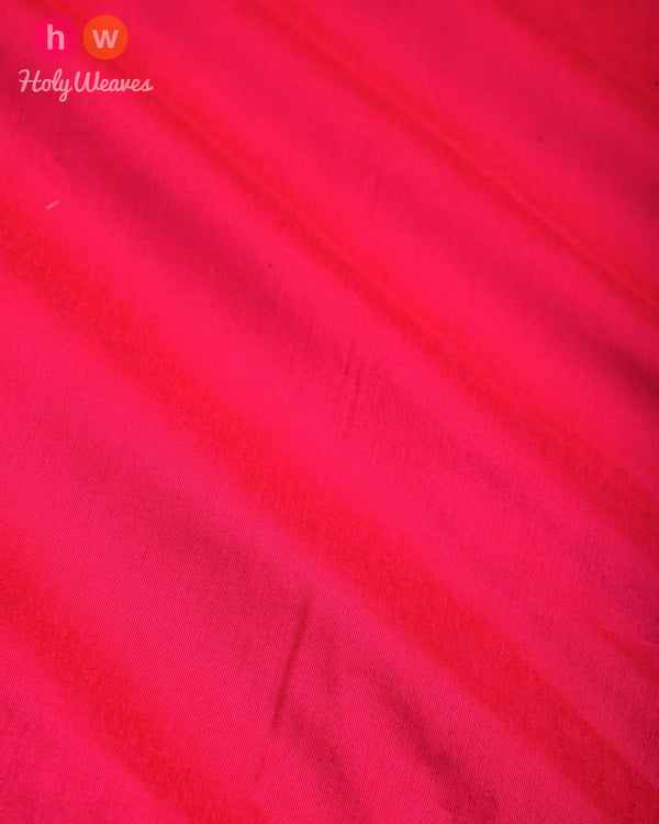 Rani Pink Plain Art Cotton Silk Fabric for Pyjama, Chudidar, Furnishings etc- HolyWeaves