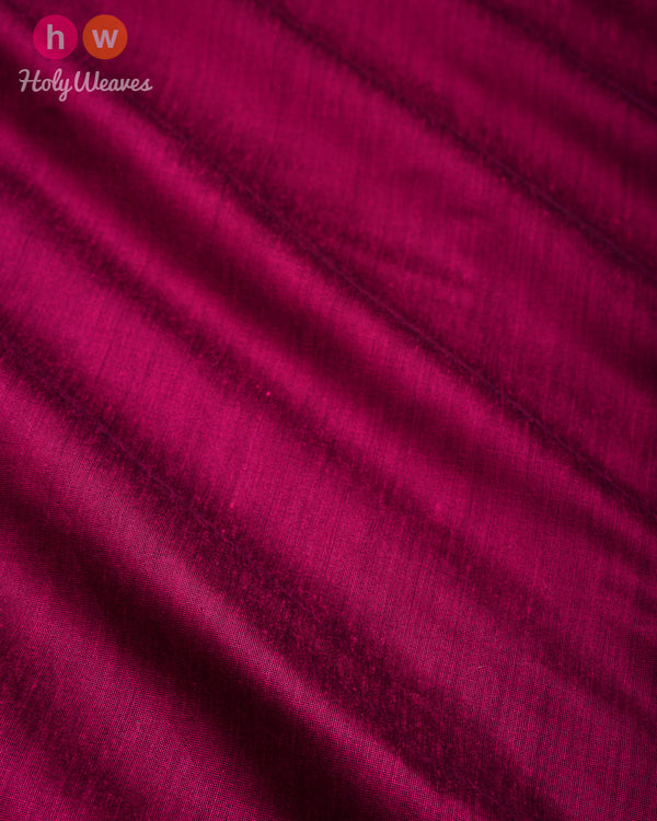 Magenta Plain Art Cotton Silk Fabric for Pyjama, Chudidar, Furnishings etc- HolyWeaves